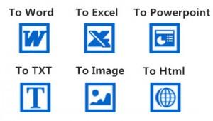 converted pdf types