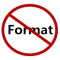 Don't format again