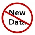 Don't input new data