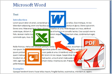 Convert from PDF