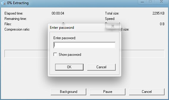 EXTRACT PASSWORD