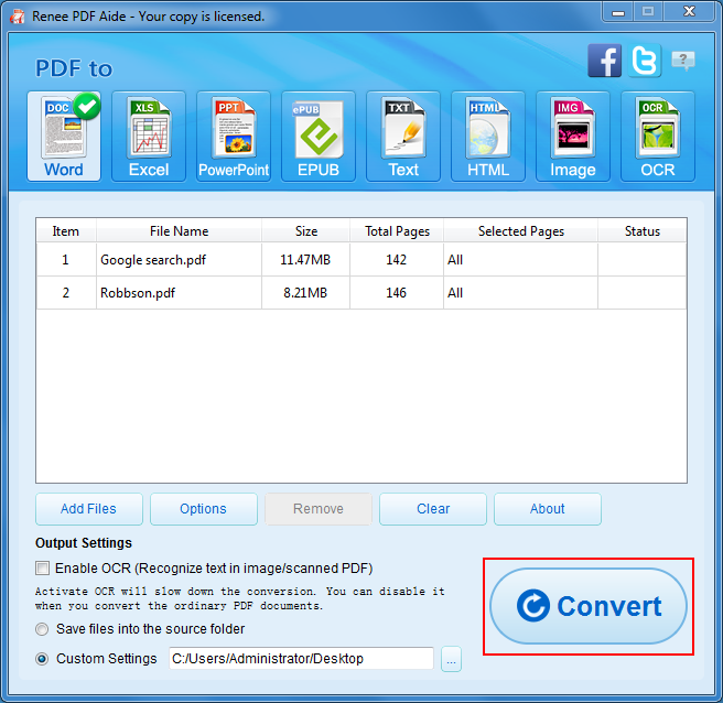 how to free convert pdf to word offline