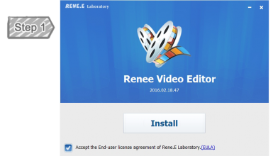 Install-of-Renee-Video-Editorr