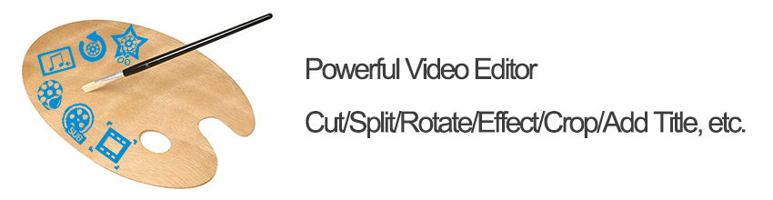 Edit tools in Renee Video Editor