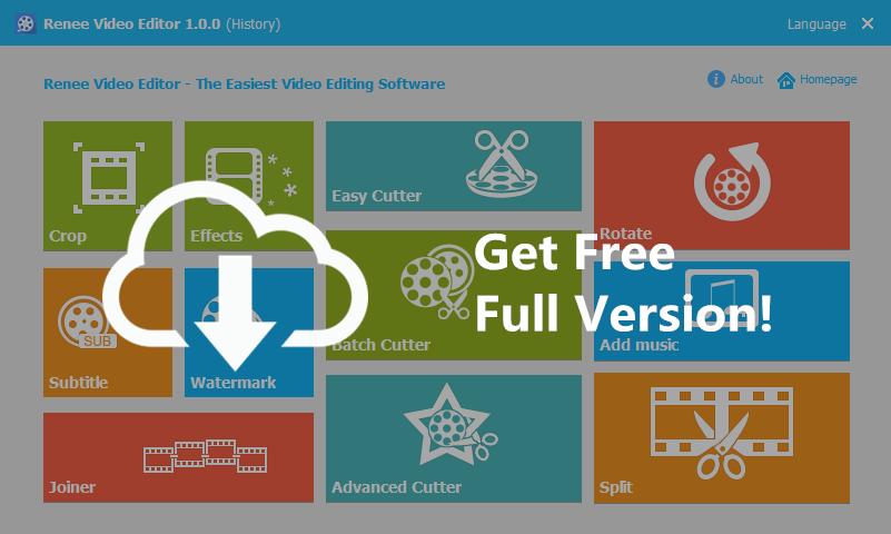 renee video editor free download