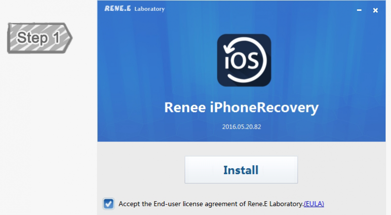 Install iPhone Recovery