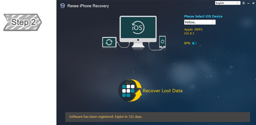 Main Interface of Renee iPhone Recovery
