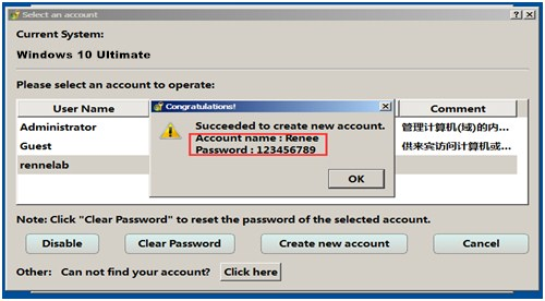 Windows 10 Password Reset Tool Recovers Password in Minutes