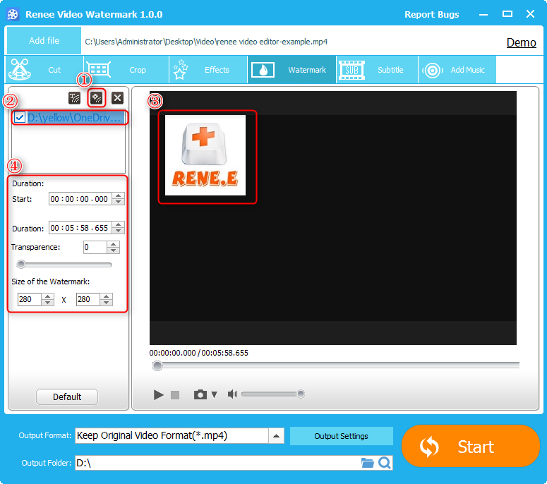 How to Add Watermark to Video for Free - Rene E Laboratory