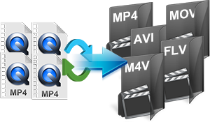 merge MP4 files into one