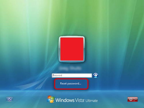 resetting windows vista password without disk