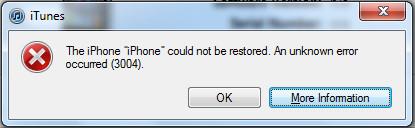 iPhone-3004-error