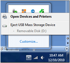 eject USB flash drive