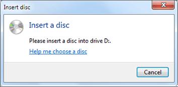 insert disk