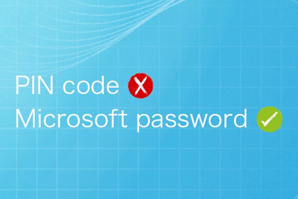 MS password