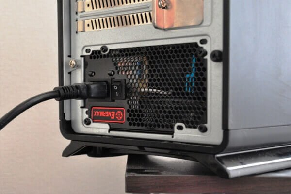 check power cable connection