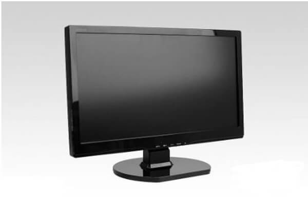 check the connection between monitor and pc