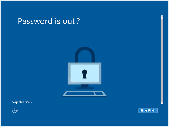 password is out