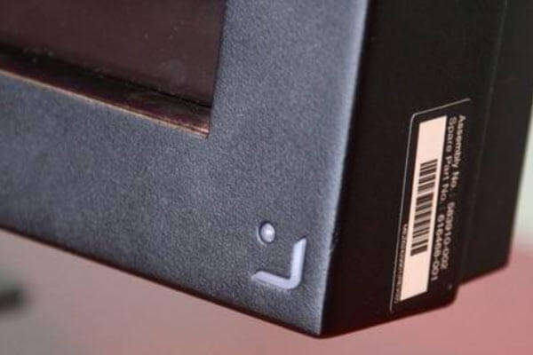 power button of monitor