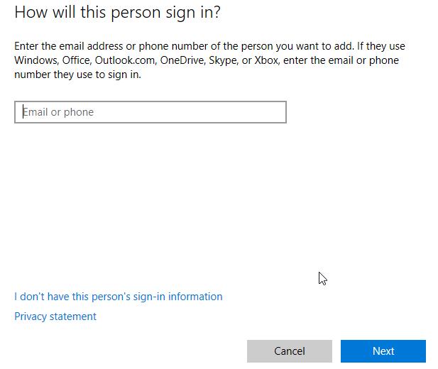 add Microsoft account