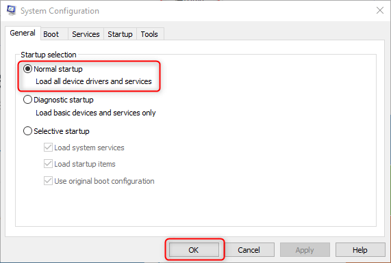 enable auto start software