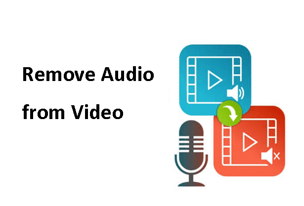 remove audio from vide