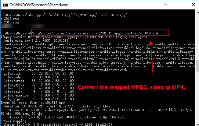 ffmpeg merge video 1