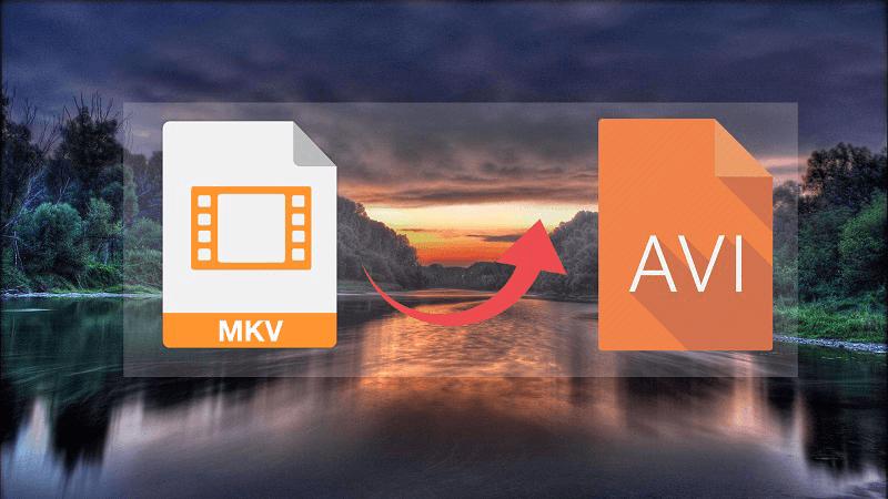 MKV to AVI