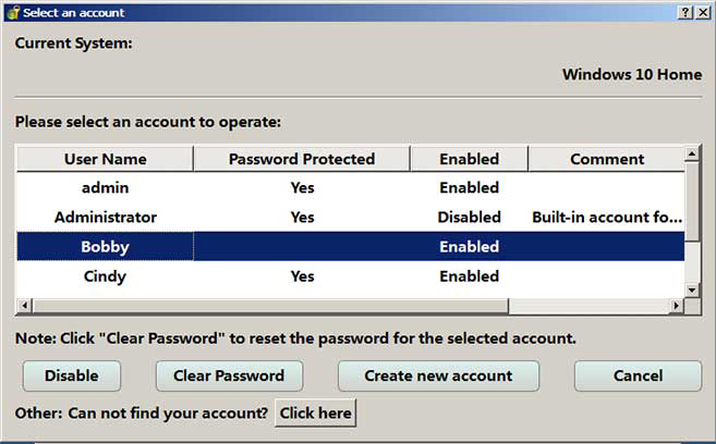 create new account in passnow
