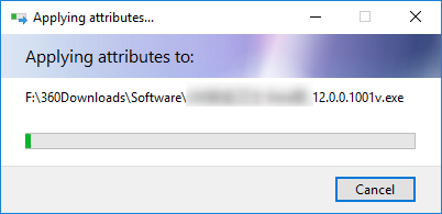 compressing the disk or the drive