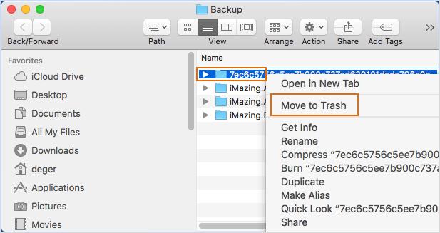 delete mac backup