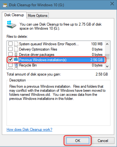 delete windows installation