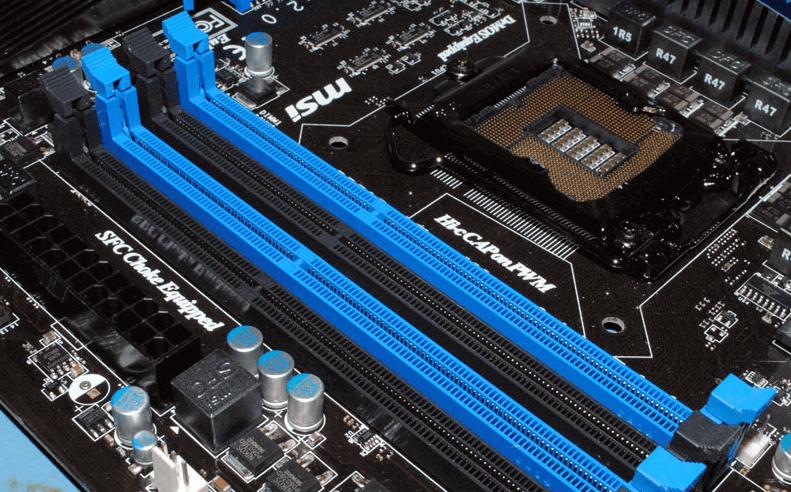establish dual channel memory in PC