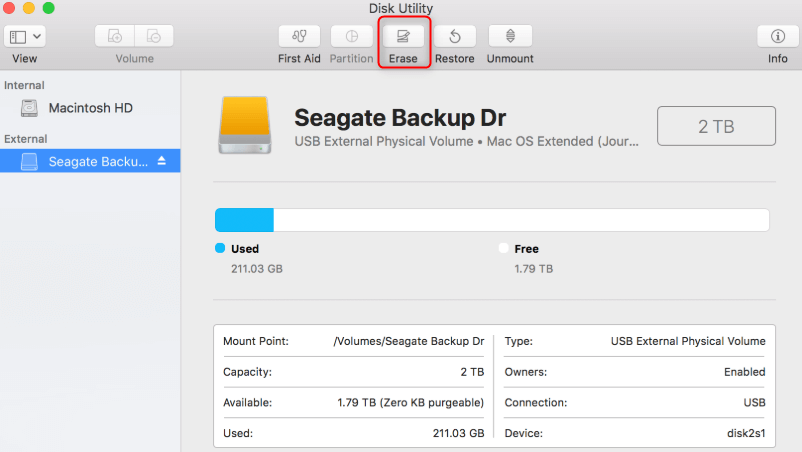 how to format usb or sd card on mac