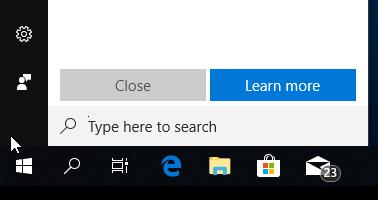 taskbar and start menu not working