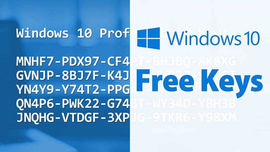 use free product keys to crack windows 10