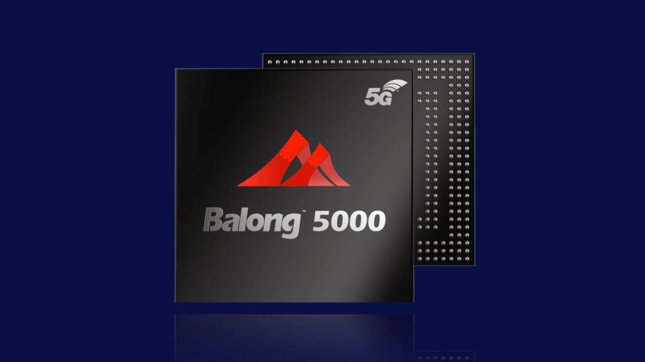 huawei balong 5000 used in 5g smart phones