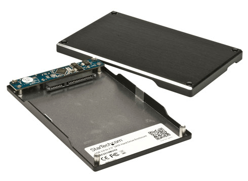 insert ssd into disk enclosure