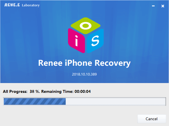 renee iphone recovery installation