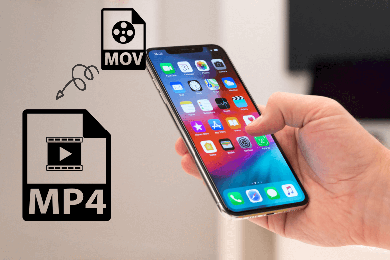 covert iphone mov video to common mp4