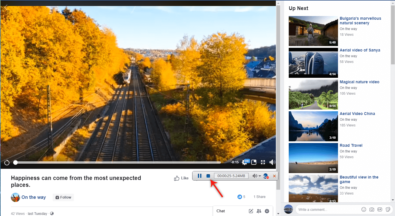 record facebook video with Renee Video Editor Pro