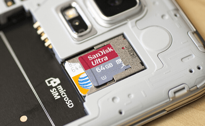 how to recover deleted photos from the micro sd card in android phone