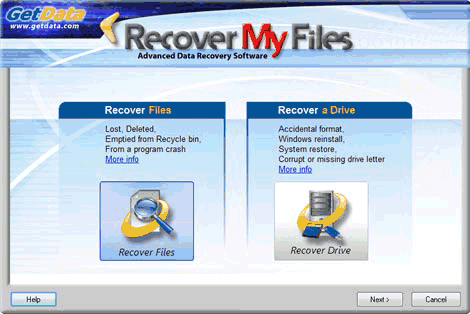 SD card recovery software Recover my files
