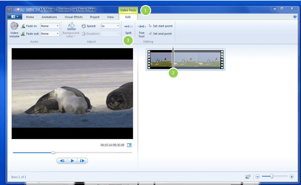 How to Cut Videos with Windows Movie Maker - Rene E Laboratory