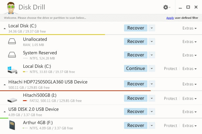 use disk drill to recover data from micro sd card