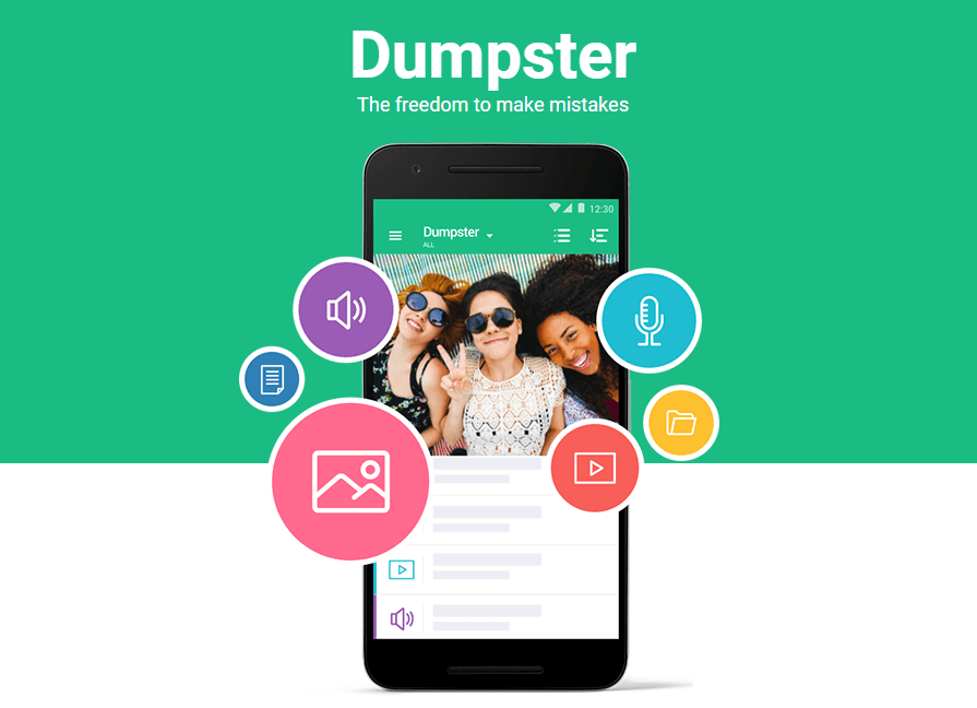 use dumpter to recover data when sd card is not showing up on android