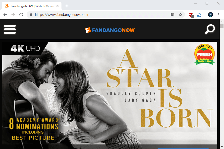 download 4k movies from fandangonow