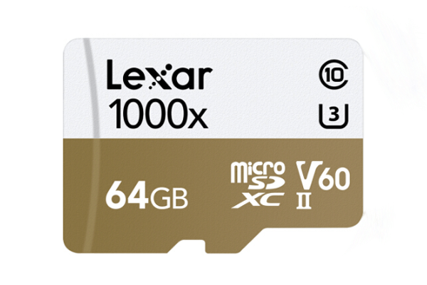 lexar sd card for security camera