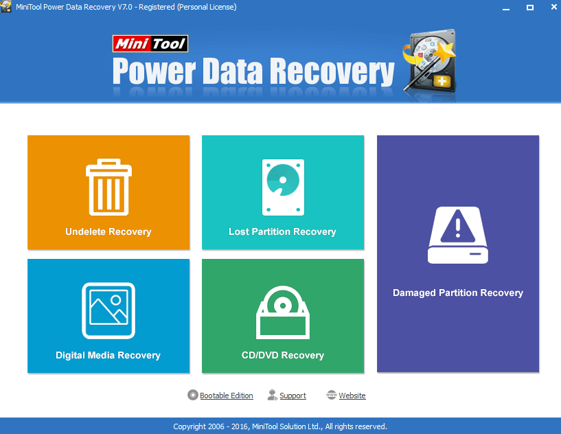 use power data recovery to recover data from micro sd card