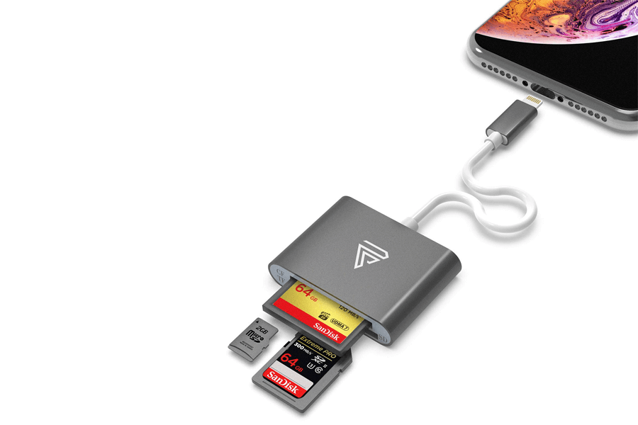 faracent sd card reader for iphone